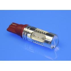żarówki W16W LED COB 7,5W czerwone przeciwmgielna MOCNA