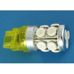 3156 z płetwą 13xHyper LED pomarańczowa 9-36Volt Amerykany