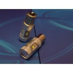 Żarówki jednowłóknowe Ba15s 1156 BIAŁA LED 6x CREE MEGA POWER 30W LED