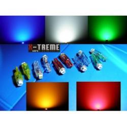 żarówka R5 / T5 1,2-2W 1 x HYPER LED do zegarów itp.