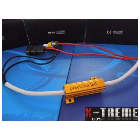DEKODER - Rezystor - symulator do żarówek H7 LED auta z komputerem itp