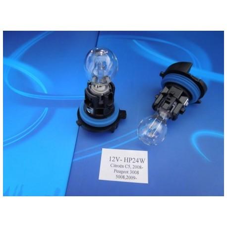 żarówka świateł dziennych VALEO HP24W 12V CITROEN PEUGEOT