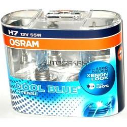 Żarówki H7 OSRAM COOL BLUE INTENSE 4200K Cena za komplet/2szt.