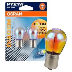 Żarówki kierunków Bau15s / PY21W asymetryczne OSRAM DIADEM LDA cena za kpl