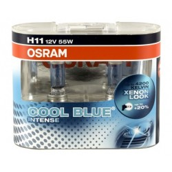 Żarówki H11 OSRAM COOL BLUE INTENSE 4200K Cena za komplet/2szt.