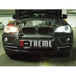 H8 20W Super CREE BLACK LINE Ringi ANGEL EYES do BMW po 2007r. LED MARKER e60 e63 e92 e93 e87 e70 e71