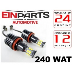 H8 DRL 2x 120W CREE EINPARTS Ringi ANGEL EYES do BMW po 2007r. LED MARKER E60 e63 e92 e93 e87 e70 e71