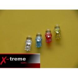 żarówka LED W5W W3W T10 R10 194 clear z soczewką (przeźroczysta) WYPRZEDAŻ