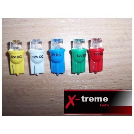 żarówka LED W5W W3W T10 R10 194 walcowe szerokokątne (rozpraszające)