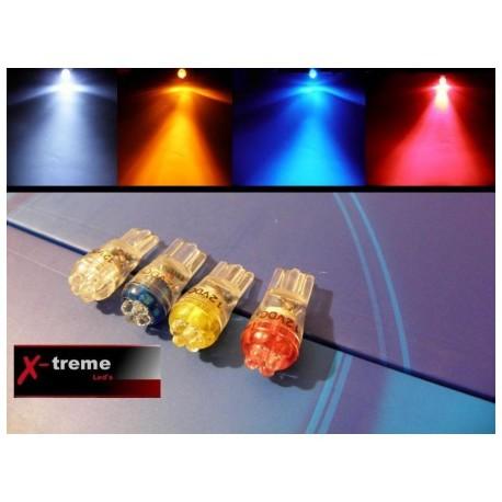 żarówka LED W5W W3W T10 R10 194  4 x LED Mocne WYPRZEDAŻ