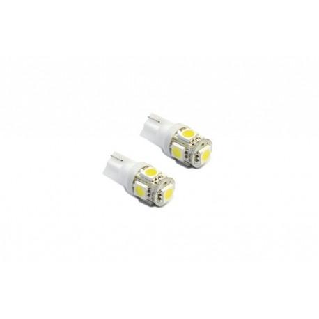 żarówka LED W5W W3W T10 R10 194 5xSMD LED biała (15-cie chipów)