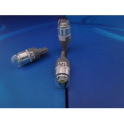 NEW żarówka LED W5W W3W CREE UHP 10-30V SUPER MOCNA 5 kolotów