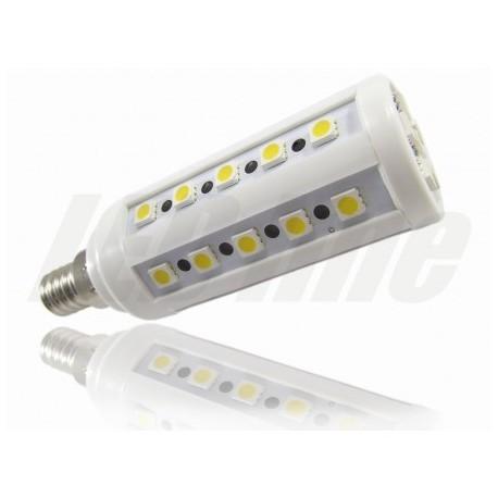 ŻARÓWKA E14 36 LED 5050 SMD 500lm 7W Ciepła LEDline