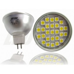 ŻARÓWKA MR16 27 LED 5050 SMD 380 lm 5W Ciepła LEDline
