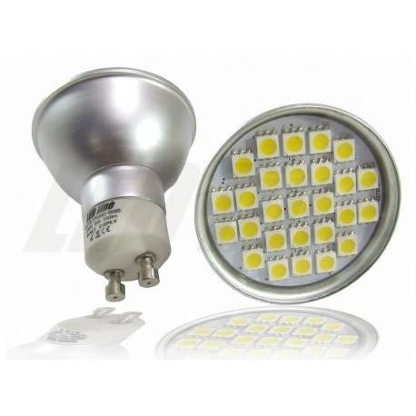 ŻARÓWKA GU10 27 LED 5050 SMD 380 lm 5W Ciepła LEDline