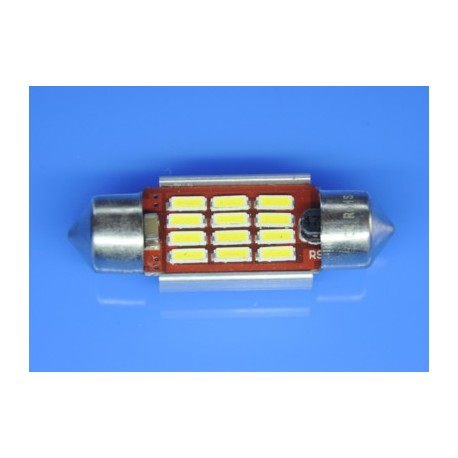 żarówki rurkowe C5W 10x36 mm CAN BUS High Power 12 x SMD z RADIATOREM do aut z komputerem