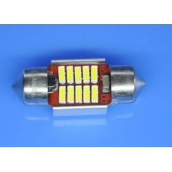 żarówki rurkowe C3W 10x31 mm CAN BUS High Power 10 x SMD z RADIATOREM do aut z komputerem