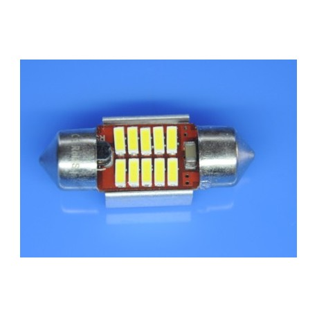 żarówki rurkowe C3W 10x31 mm CAN BUS High Power 10 x SMD z RADIATOREM do aut z komputerem