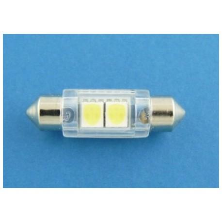10x36 2 x SMD LED 5050 żarówka rurkowa C5W XTREME TECHNOLOGY