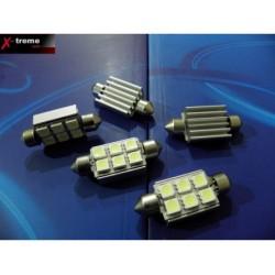 C5W żarówki rurkowe 10x36 CAN BUS High Power 6xCSMD z RADIATOREM do aut z komputerem