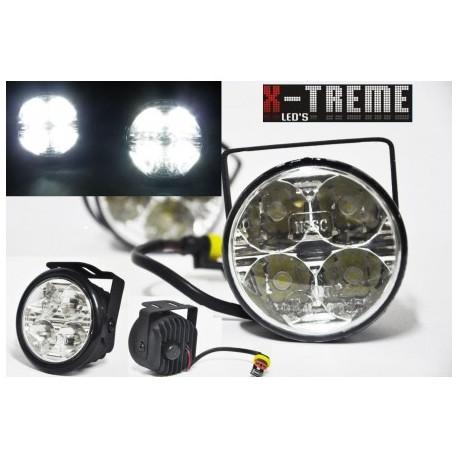 Okrągłe Światła do jazdy dziennej 510 HP NSSC E4 RL00 4 xHP 1W