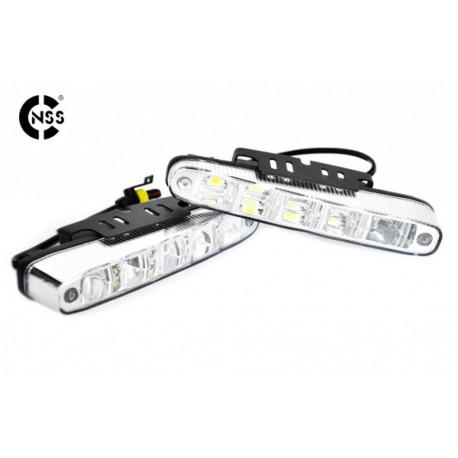 Światła do jazdy dziennej SKOŚNE 506 HP NSSC E4 RL00 5xHP LED 160mm