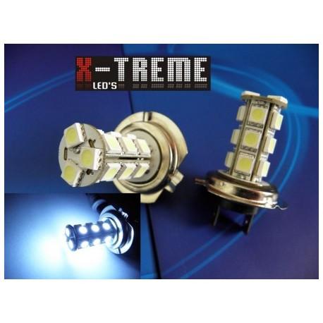 Żarówki H7 LED 12 V 18 x HP SMD 5050 XTREME LIGHT