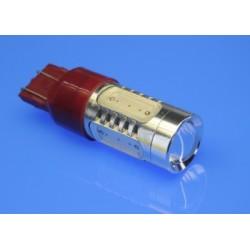 Żarówki 7443/P20 CZERWONE LED COB 5 x MEGA POWER 7,5W LED XTREME LIGHT